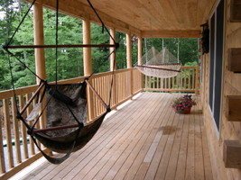 Front Porch with Hammocks